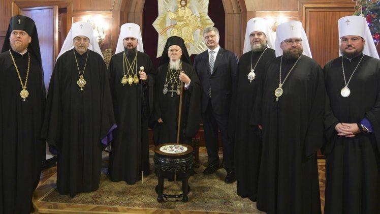 Порошенко запросив патріарха Варфоломія з візитом до України
