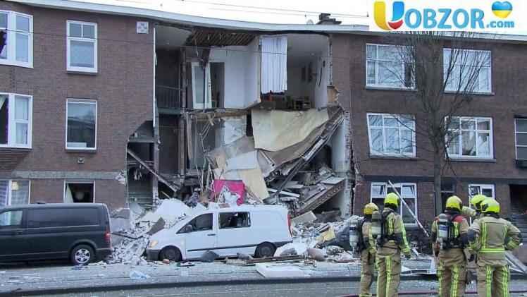 У місті Гаага через вибух обвалилася стіна житлового будинку: є потерпілі