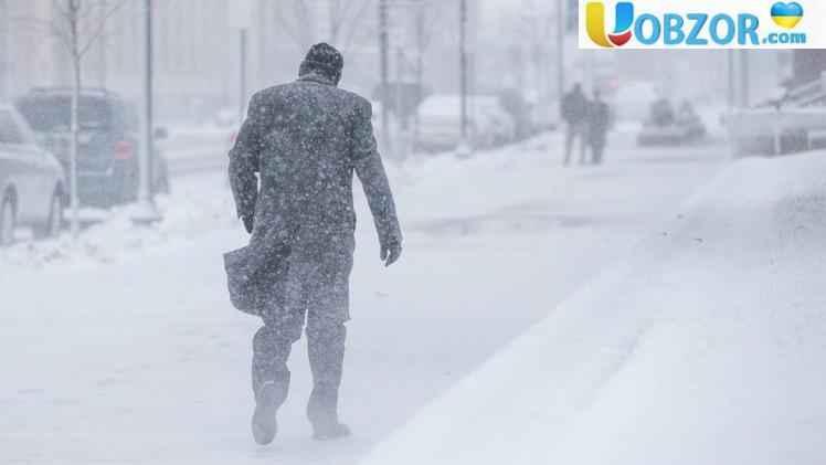 З 21 січня на більшості території України очікується сніг та мороз