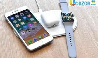 Apple запустили в масове виробництво бездротову зарядку - Apple AirPower