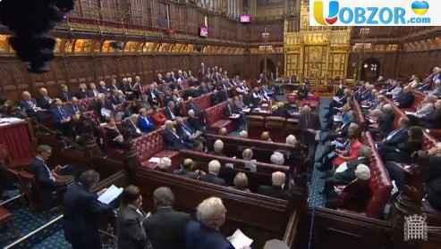 """Британська Палата лордів відкинула сценарій """"жорсткого Brexit"""""""