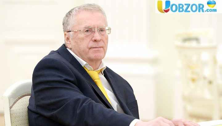 Жириновського запідозрили в посяганні на цілісність України