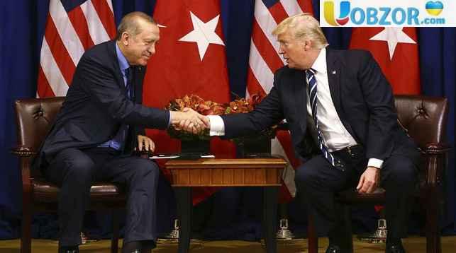 Ердоган і Трамп обговорили ситуацію в Сирії