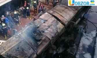 Потужний вибух на залізничному вокзалі в Каїрі ВІДЕО