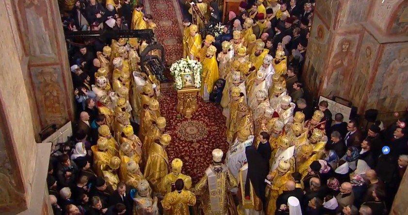 Митрополита Єпіфанія офіційно звели на престол