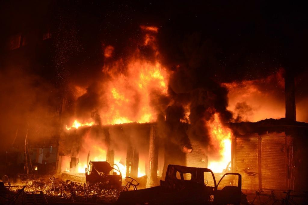 Бангладеш пожежа