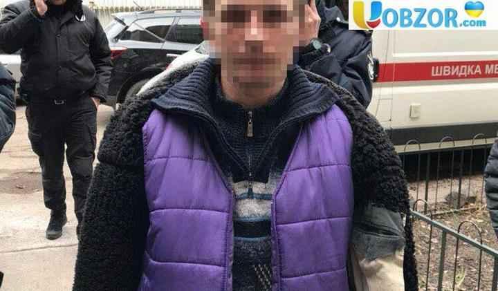 У Києві вбивця прикинувся мертвим, аби втекти від поліції