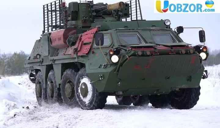 БТР-4 з новими корпусами
