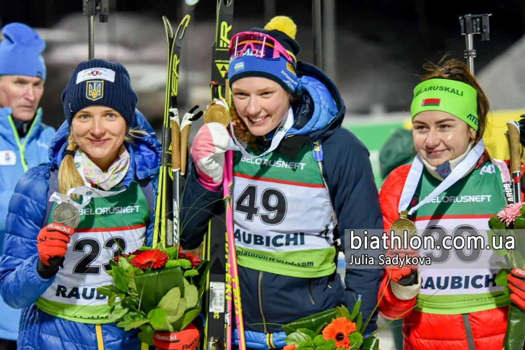 Україна завоювала першу медаль на чемпіонаті Європи з біатлону
