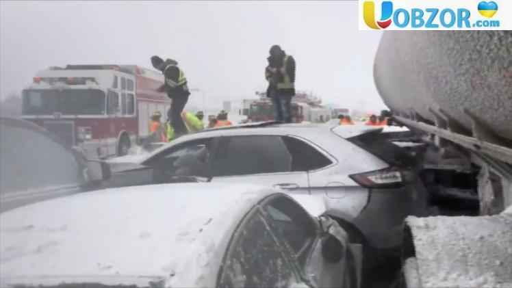 Масштабне ДТП в Канаді: на трасі зіткнулося 70 авто