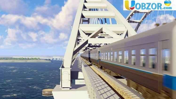 Перший пасажирський поїзд через Кримський міст пустять 8 грудня