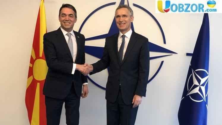 В НАТО підписали протокол про вступ Македонії в Альянс