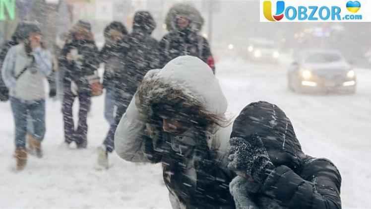 В Україні очікується значне погіршення погодних умов: сніг і до -18