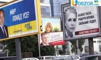 У Києві поліція почала штрафувати за політичну рекламу на балконі