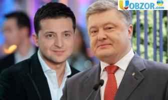 Ставки: Букмекери не вірять в Зеленського і ставлять на Порошенко