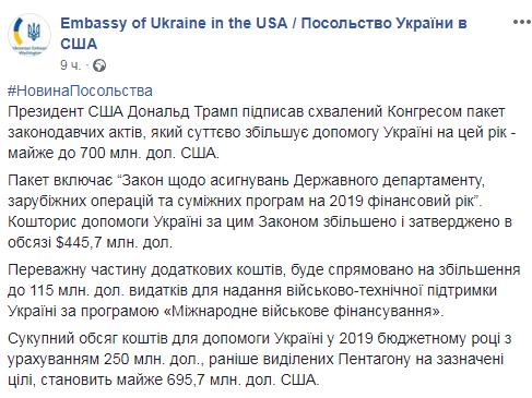 700 млн допомоги Україні