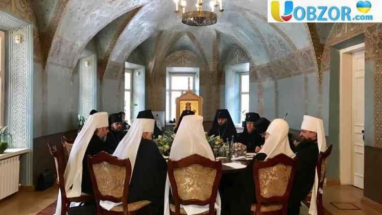 У Києві проходить перше засідання Священного Синоду ПЦУ