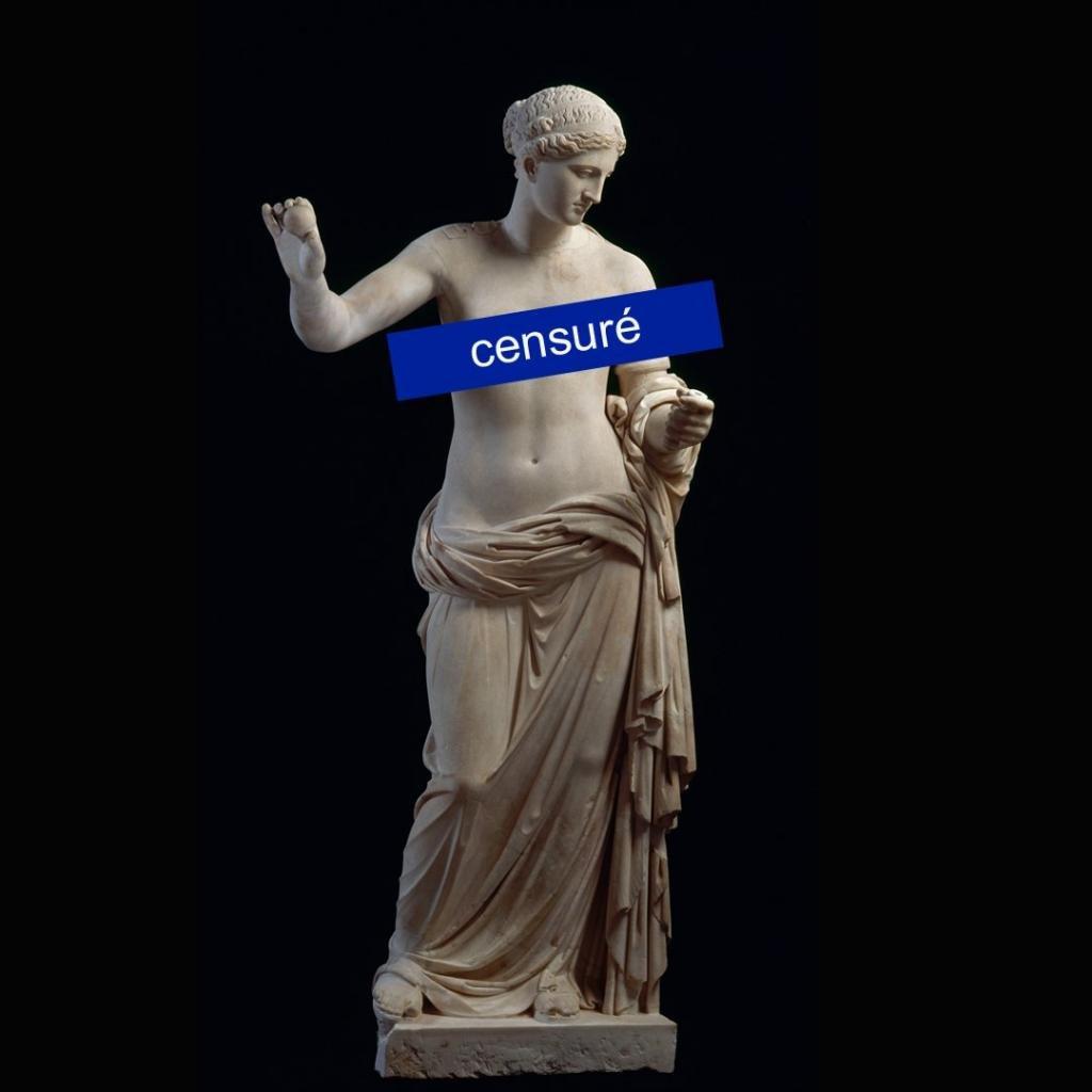 Facebook заборонив музею публікувати фото оголених статуй