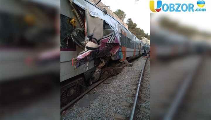 В Іспанії зіткнулися два потяги, є жертви