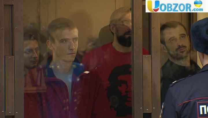 Московський суд визнав законним продовження арешту українським морякам
