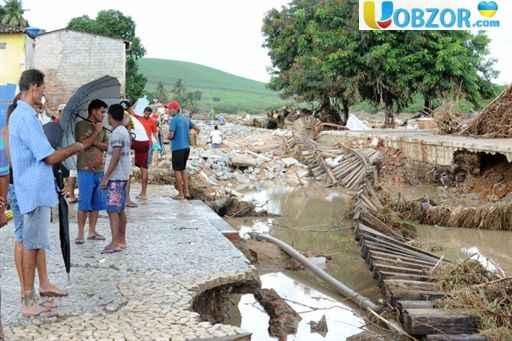 Сильна повінь в Бразилії: на даний момент відомо про 12 жертв