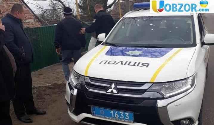 Під Запоріжжям чоловік посеред вулиці кинув в поліцейських гранату