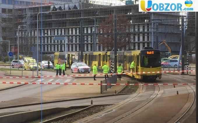 Стрілянина в Утрехті: троє загиблих, дев'ять поранених