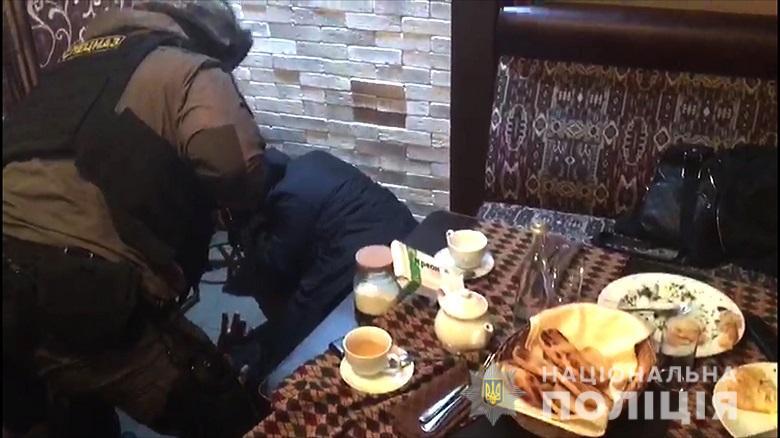 У центрі Києва зірвали сходку кримінальних авторитетів