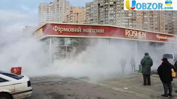 Стало відомо, хто стоїть за підпалами магазинів Roshen в Києві