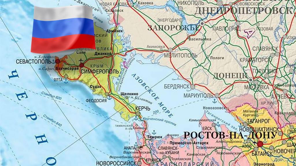 Скарга в сторону Google: «російський Крим» на картах світу
