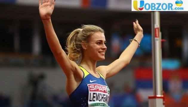 Левченко стала срібнимм призером чемпіонату Європи з легкої атлетики