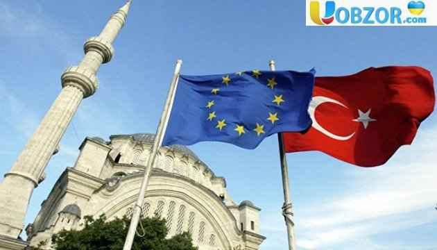 Європарламент рекомендував призупинити переговори про вступ Туреччини в ЄС