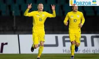 Україна вирвала перемогу над Люксембургом у матчі відбору на Євро-2020