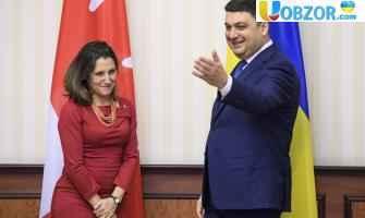 Канада готова допомогти Україні провести чесні президентські вибори