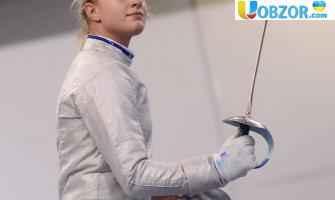 Ольга Харлан завоювала срібну медаль кубка світу з фехтування