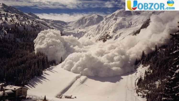 Сьогодні в Україні очікується сходження лавин в горах