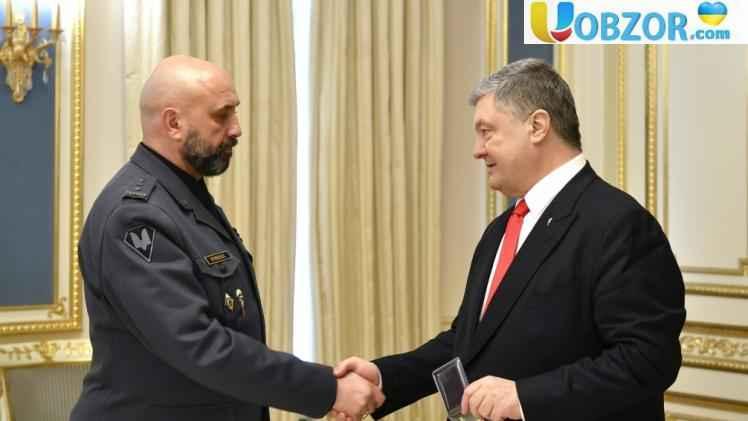 Порошенко призначив полковника Кривоноса заступником секретаря РНБО