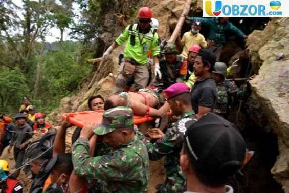 Зсув на острові Сулавесі: число жертв збільшилося до 8