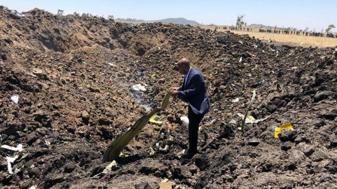 Аварія літака в Ефіопії