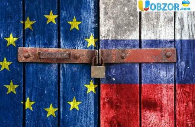 санкції проти росіян з єс