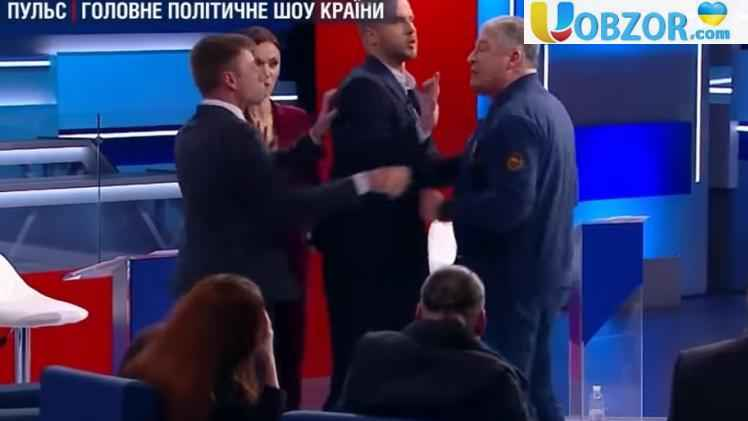 """Гончаренко і Червоненко посварилися в прямому ефірі: """"Ти небіжчик"""""""
