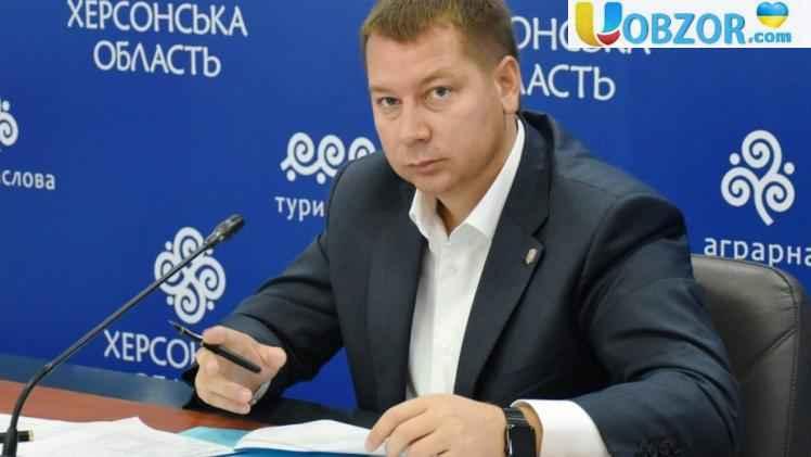 Кабмін ухвалив відставку голови Херсонської ОДА Гордєєва