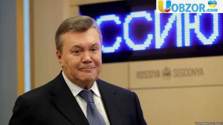 Янукович привітав Володимира Зеленського з перемогою