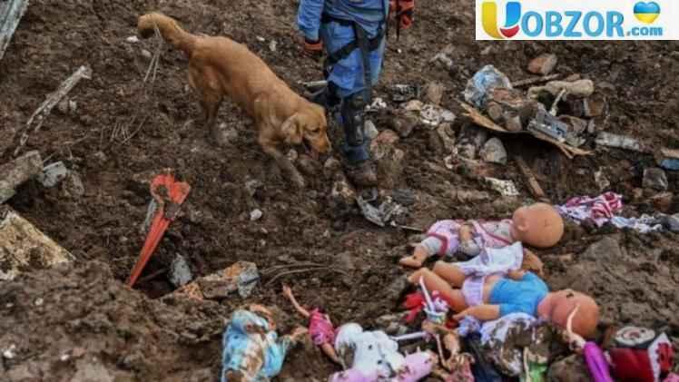 Зсув у Колумбії: зруйновані будинки, загинуло 17 людей
