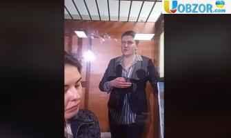 Надія Савченко вийшла на волю із СІЗО
