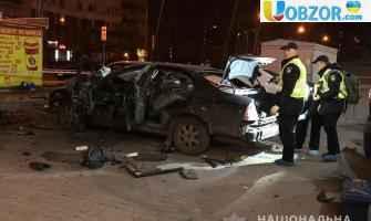У Києві вночі вибухнув автомобіль: Є ПОТЕРПІЛІ