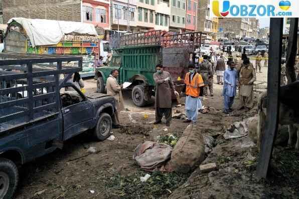 Вибух на ринку у Пакистані
