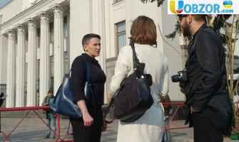 Надія Савченко прийшла на роботу в Верховну Раду