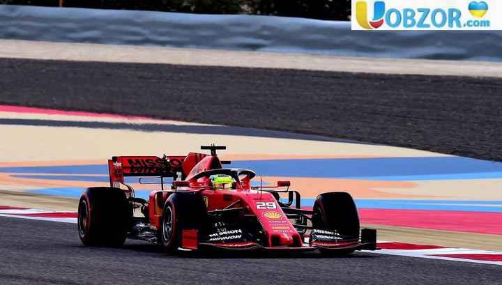 """Мік Шумахер показав другий результат на тестах """"Формули-1"""""""