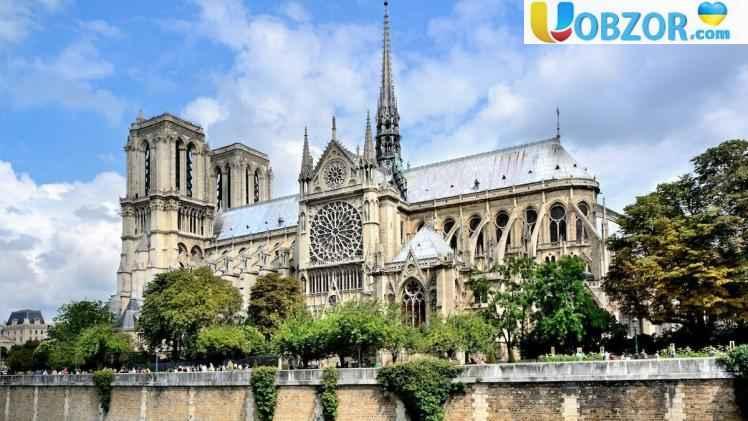 Собор Паризької Богоматері: найвеличніший готичний храм в Європі